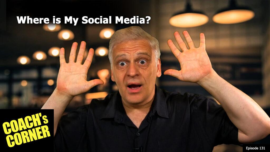 Hey where did my social media go?